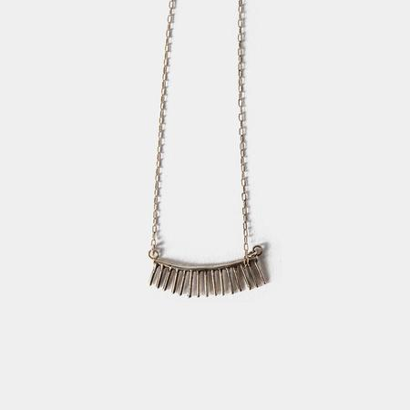 I Like It Here Club Space Cadet Necklace - Silver