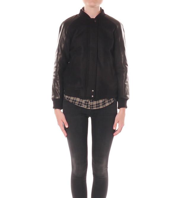 Angélique Chmielewski Raglan Varsity Jacket