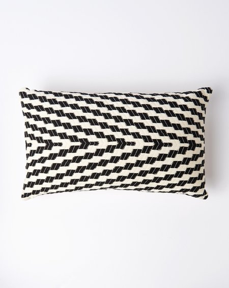 Archive New York Almolonga Pillow in Black and White