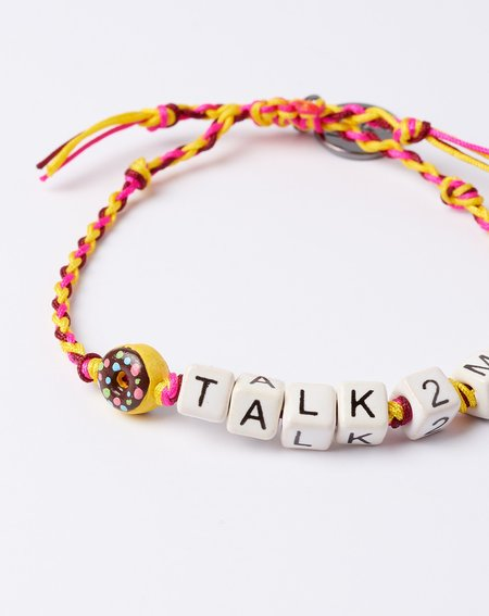Venessa Arizaga Don't Talk To Me Bracelet
