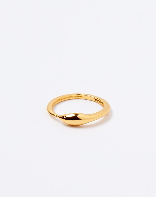Ida James Golden Serpent Ring