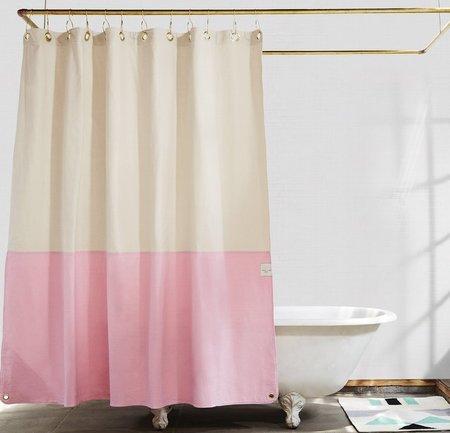 Quiet Town Orient Shower Curtain - Phlox