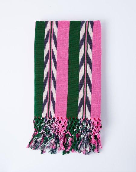 Archive New York Palm Ikat Blanket