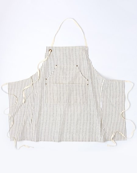 Kids Sir Madam Petite Grand Apron - Dotted Pinstripe