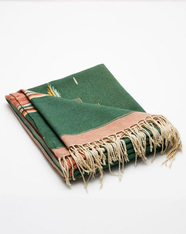 Covet + Lou Vintage Southwestern Blanket - Jade