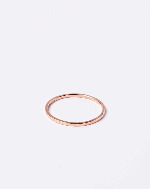Blanca Monrós Gómez Thin Stacking Ring in Rose Gold