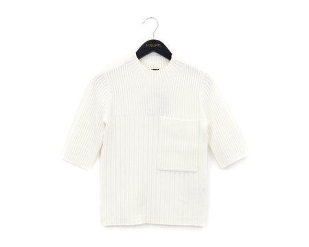 Joseph Sweater Top with Pocket