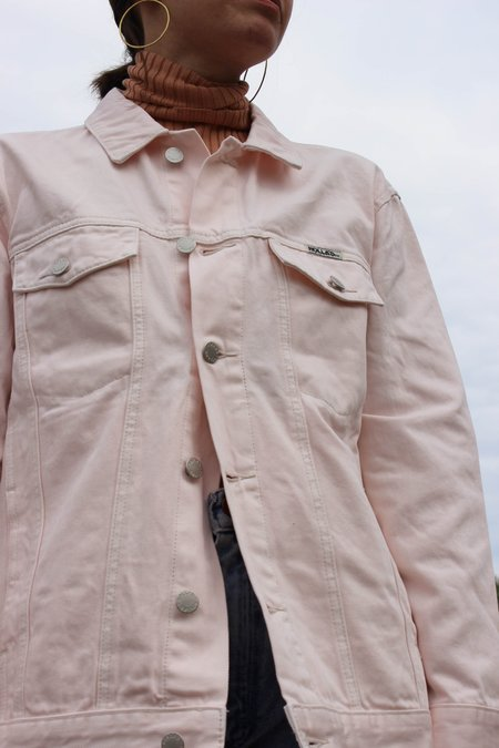 Rolla's Jeans Slouch Jacket - Faded Pink