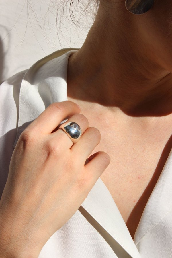 Yah Yah Jewelry Strength Ring - Silver