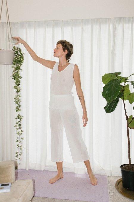 Lauren Manoogian Accordion Pants - White
