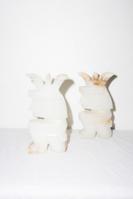 Clan of Cro Vintage MARBLE BOOKENDS