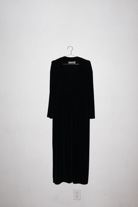 Vintage Maxi Dress - Black