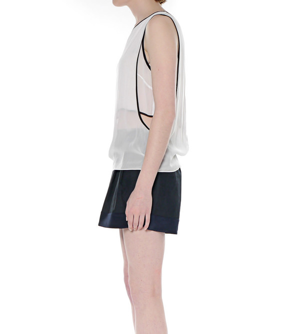 Helmut Lang Vanish Double Layered Top