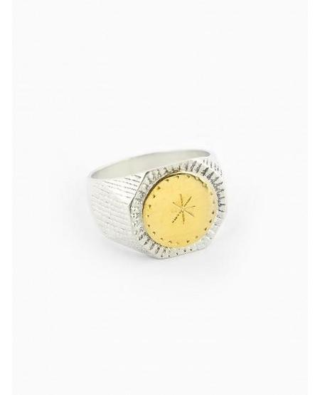 Ombre Claire Ring Alois - Vermeil / Silver