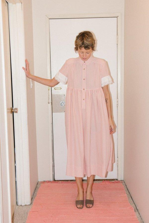 Creatures of Comfort Lindsey Dress - Peach