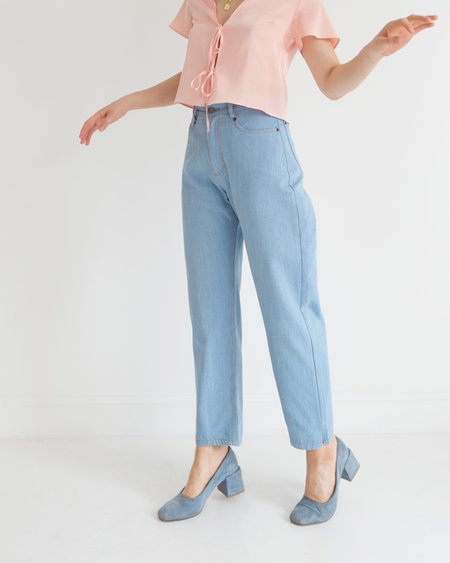 Side Party Mama High Waisted Jeans