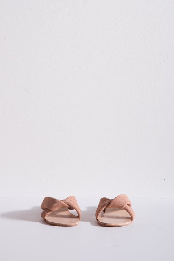 A Détacher Pipit Sandal Suede - Blush