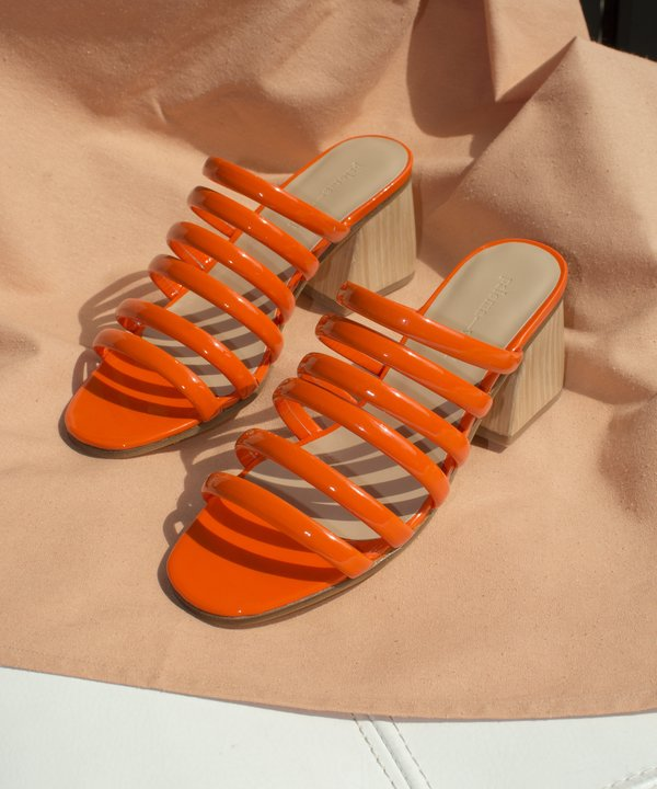 Paloma Wool Orange Maria Sandal