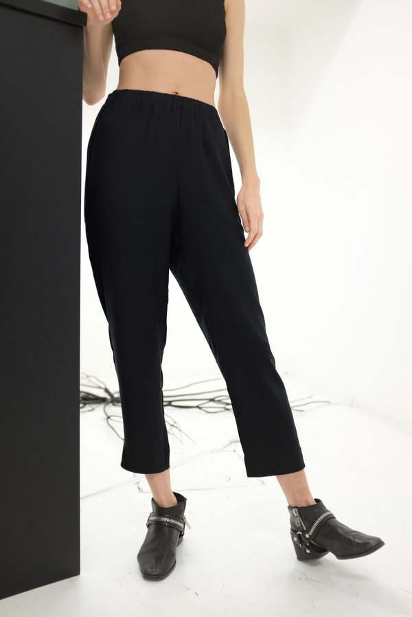 Lina Rennell Beklina Basic Pant - Black