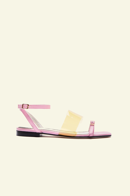 Nicole Saldana Izzie Sandal - Pink