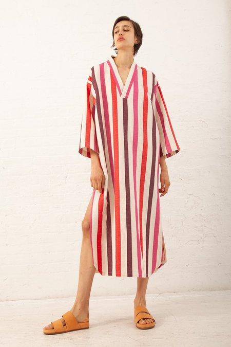 AVN Caftan - Pink Stripe