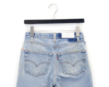 RE/DONE High Waist Ankle Crop Denim