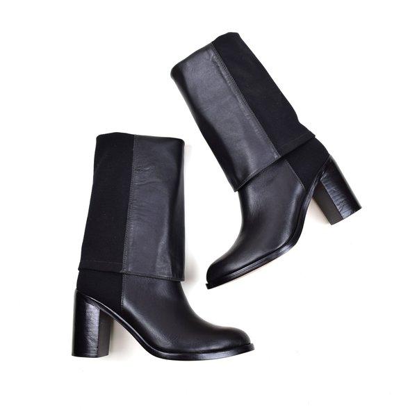 Ariana Bohling Kate Knee-High Boot Black