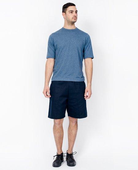 Camo Factory The Vee T-Shirt - Melange Sky Blue