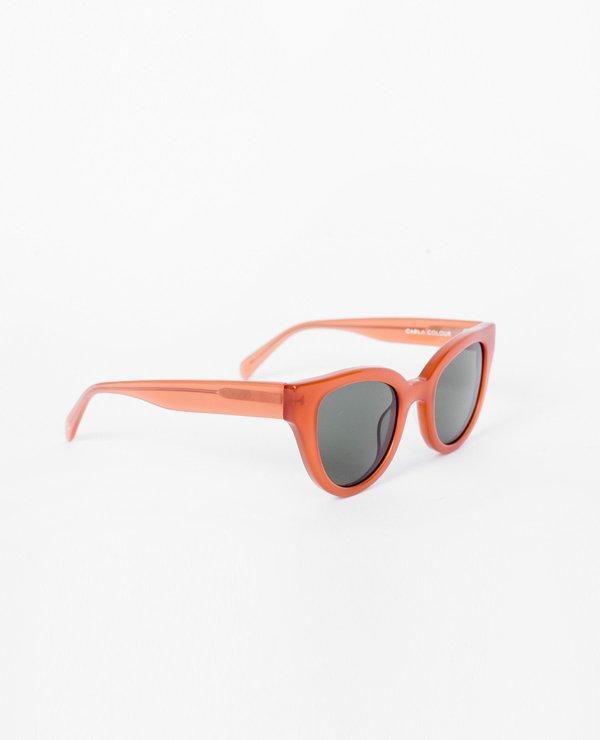 Carla Colour Barton Sunglasses - Cardinal/Hunter