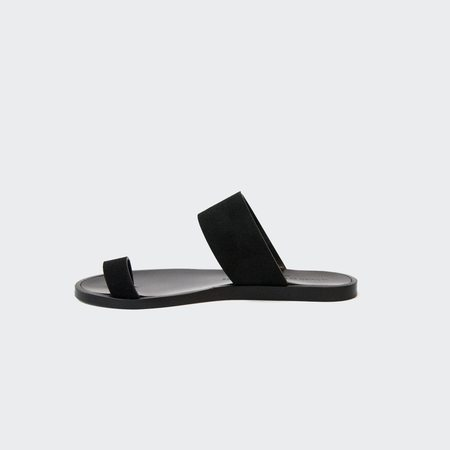 Woman by Common Projects Minimalist Sandal - Black