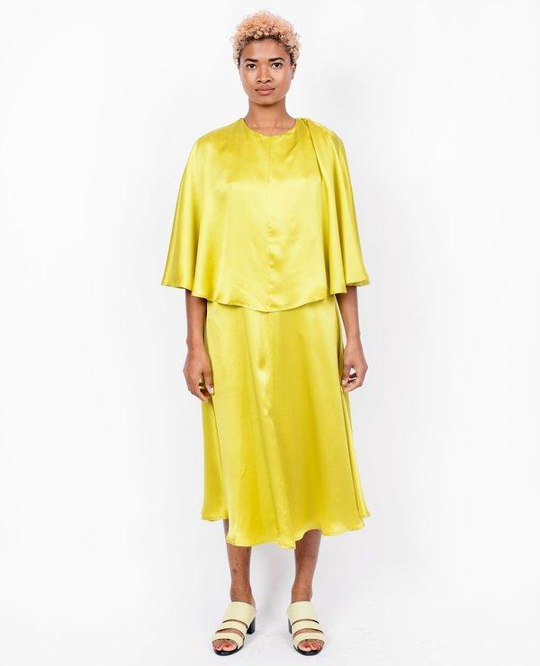 Wolcott Takemoto Kepu Dress - Lime