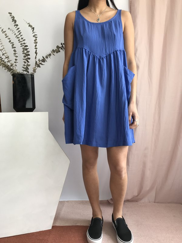 Pepaloves Marita Dress - Blue