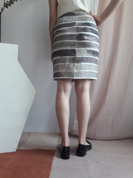 Valérie Dumaine Paige Skirt - Rayé