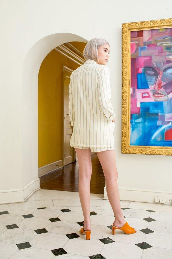 Between Ten Marnie Blazer - Ivory