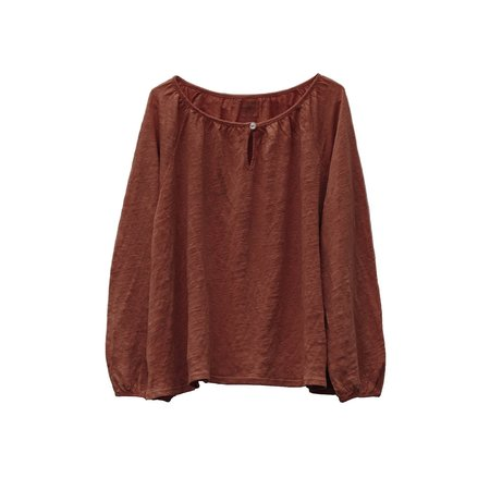 Kids Le Petit Germain Jane Blouse - Bush