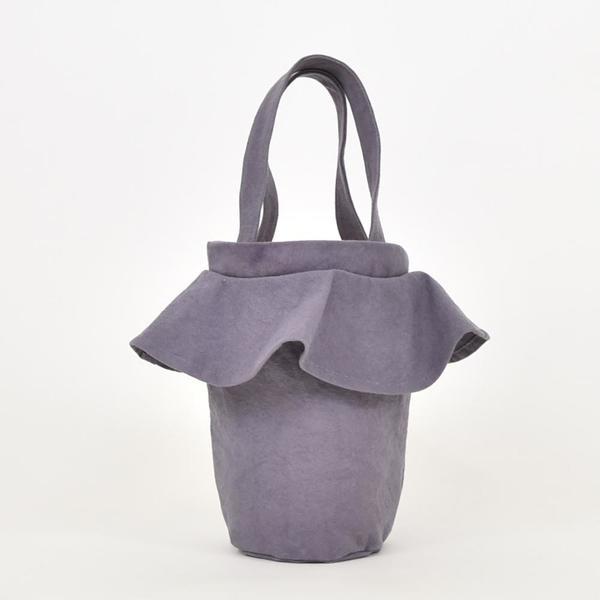 Lotfi Carmen Bucket Bag - Lila