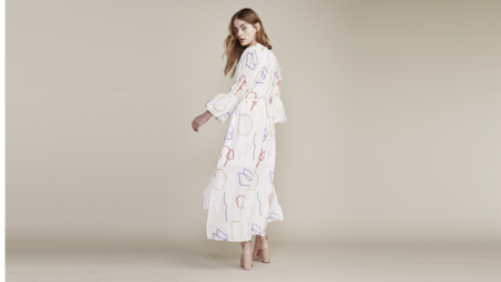 Where Mountains Meet Whitney Dress - Flora Print