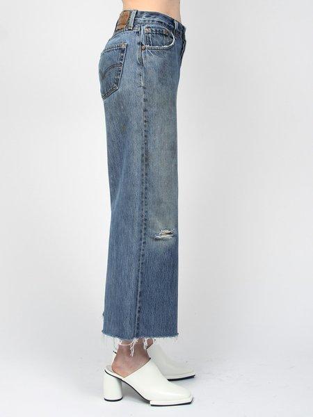 B-Sides Vintage Culotte Jean - Blue Denim