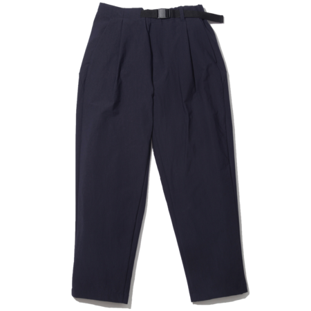 Unisex Goldwin 1 Tuck Easy Tapered Trousers - Dark Navy