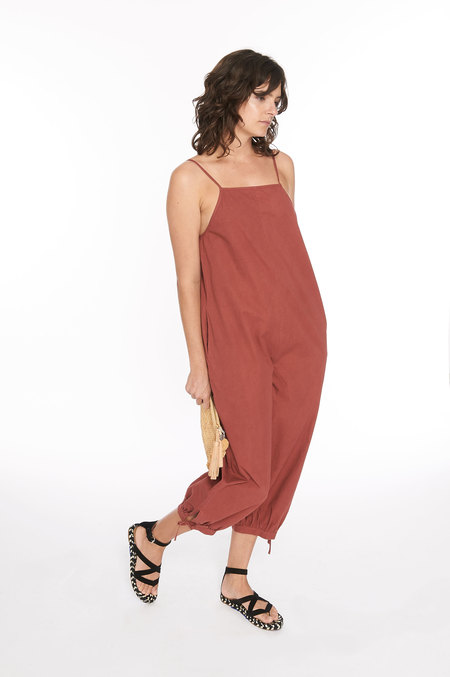 WRAY Ferry Jumpsuit - currant