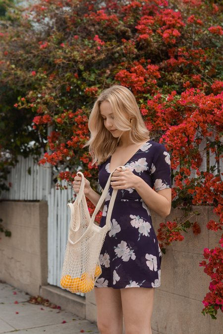 Between Ten Olivia Mini Dress - Paris Floral