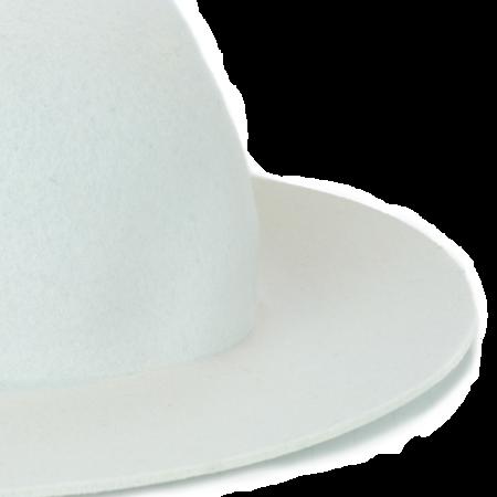 Kids Westerlind Felt Hat - White