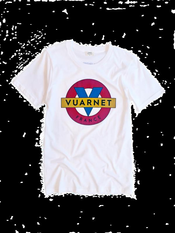 Unisex Vuarnet T-Shirt - Red / Gold