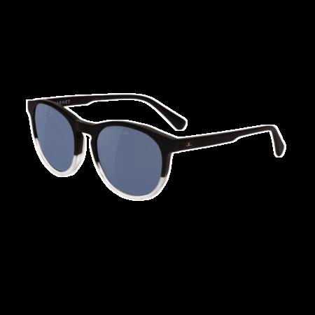 Unisex Vuarnet District Round Sunglasses - Milky Grey