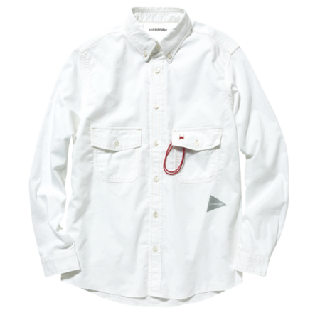 Unisex And Wander Dry Ox Shirt - White