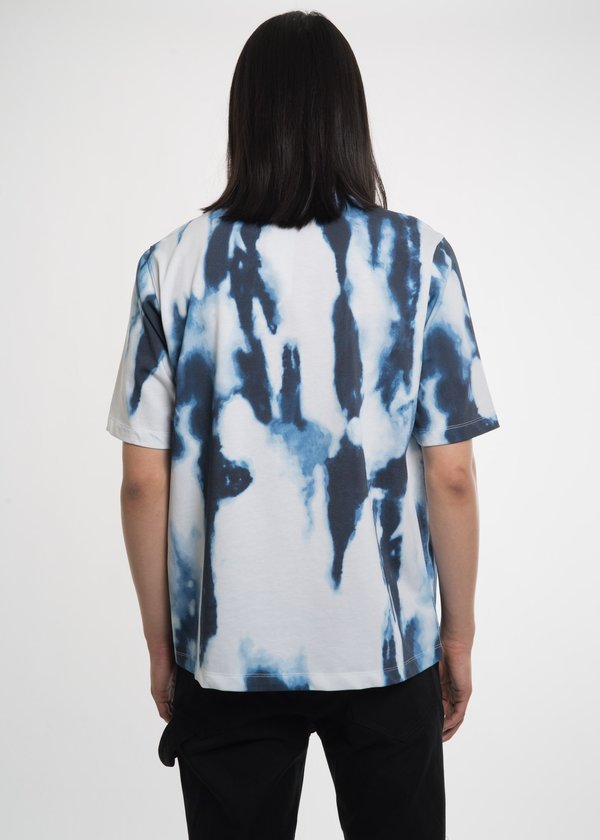 Helmut Lang Bleached Helmut Tour T-Shirt - Printed