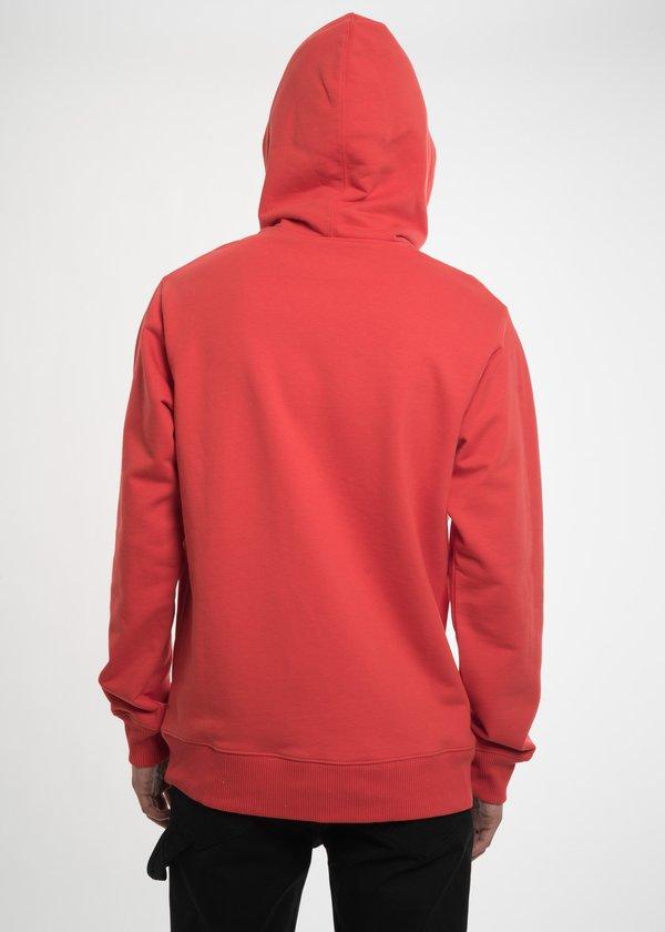 Helmut Lang Puppy Hoodie Top - Red