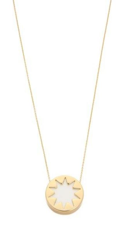 House of Harlow 1960 Mini Sunburst Pyramid Necklace - Gold