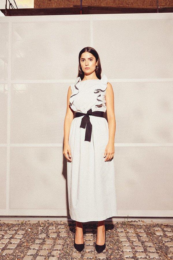 Kamperett Cabot Tank Dress - White