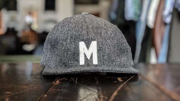 Knickerbocker x Milworks Wool Cap - Grey